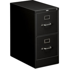 HON 512PP HON 510 Series Ltr-sz Locking Black Vertical File HON512PP