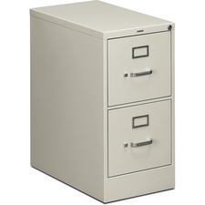 HON 512PQ HON 510 Series Lt.Gy. Locking Drawer Vertical File HON512PQ