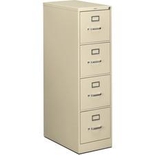 HON 514PL HON 510 Series Ltr-sze Locking Putty Vertical File HON514PL