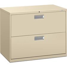 HON 682LL HON 600 Series Putty Standard Lateral File HON682LL