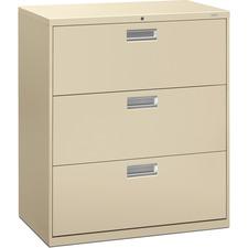 HON 683LL HON 600 Series Putty Standard Lateral File HON683LL