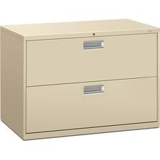 HON 692LL HON 600 Series Putty Standard Lateral File HON692LL