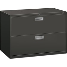 HON 692LS HON Brigade Charcoal Locking Drawer Lateral File HON692LS
