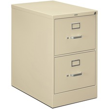 HON H322CL HON H320 Series Block Drawer Putty Vertical File HONH322CL