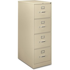 HON H324CL HON H320 Series Block Drawer Putty Vertical File HONH324CL