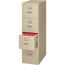 HON H324L HON H320 Series Block Drawer Putty Vertical File HONH324L