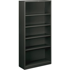 HONS72ABCS - HON Brigade 5-Shelf Steel Bookcase