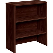 HON 107292NN HON 10700 Series Mahogany Laminate Bookcase Hutch HON107292NN