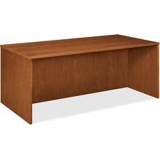 Basyx by HON BW Series Rectangular Top Desk Shell