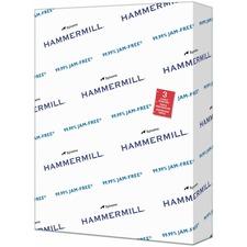 "Hammermill Copy Plus 8.5x11 3-Hole Punched Inkjet Copy & Multipurpose Paper - White - 92 Brightness - Letter - 8 1/2"" x 11"" - 20 lb Basis Weight - FSC, FSC"