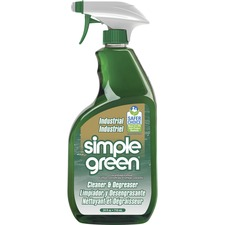 Simple Green Industrial Cleaner/Degreaser - Concentrate Spray - 24 fl oz (0.8 quart) - Original Scent - White