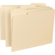 SMD 10230 Smead 1/3-cut Tab Interior File Folders SMD10230