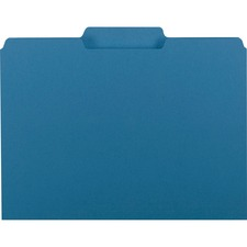 SMD 10287 Smead 1/3-cut Tab Interior File Folders SMD10287