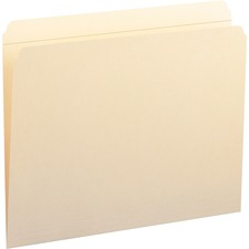 SMD 10310 Smead Reinforced Straight-cut Tab File Folders SMD10310