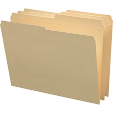 SMD 10326 Smead Reinforced 1/2-cut Tab File Folders SMD10326