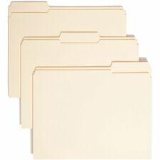 SMD 10334 Smead Reinforced 1/3-cut Top Tab File Folders SMD10334