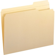 SMD 10337 Smead Reinforced 1/3-cut Tab File Folders SMD10337