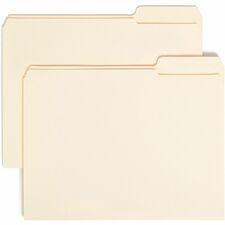 SMD 10337 Smead Reinforced 1/3-cut Top Tab File Folders SMD10337