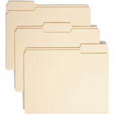 SMD 10339 Smead Top-Tab 1-Ply Manila File Folders SMD10339