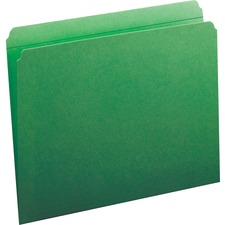 SMD 12110 Smead 2-ply Str-cut Tab Colored File Folders SMD12110