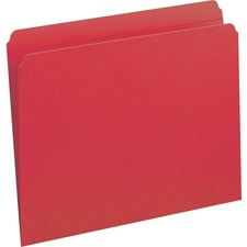 SMD 12710 Smead 2-ply Str-cut Tab Colored File Folders SMD12710