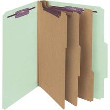 SMD 14091 Smead SafeSHIELD 3-Divider Classification Folders SMD14091