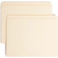 SMD 14510 Smead Straight Cut Tab File Folders w/ Fasteners SMD14510
