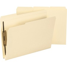 SMD 14595 Smead 2-ply Tab 14pt. Manila Fastener Folders SMD14595