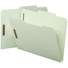 SMD 14980 Smead 2/5 Cut Tab SafeShield Fastener Folders SMD14980