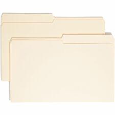 SMD 15320 Smead 1/2 Cut Top Tab Manila File Folders SMD15320
