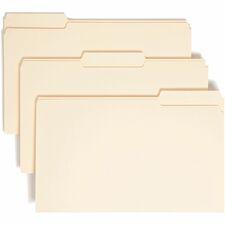 SMD 15330 Smead 1/3 Cut Tab Manila File Folders SMD15330