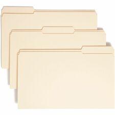 SMD 15334 Smead Reinforced 1/3-cut Tab File Folders SMD15334