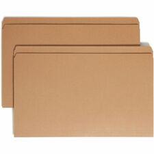 SMD 15710 Smead Kraft Reinforced Straight Tab File Folders SMD15710