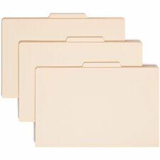 SMD 18700 Smead 1-Divider Manila Classification Folders SMD18700