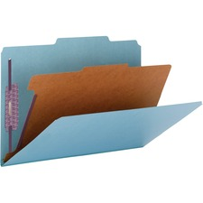 SMD 18730 Smead Pressboard 1-Divider Classification Folders SMD18730