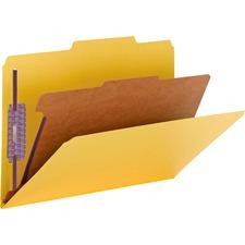 SMD 18734 Smead Pressboard 1-Divider Classification Folders SMD18734