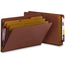 SMD 29865 Smead SafeShield End Tab Classification Folders SMD29865