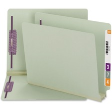 Smead End Tab Pressboard Fastener File Folder with SafeSHIELDANDreg; Fastener 34725