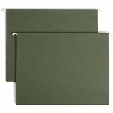 SMD 64010 Smead Standard Green Hanging File Folders SMD64010