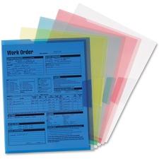 SMD 85750 Smead Translucent Project Poly File Jackets SMD85750