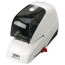 Rapid 5050e Professional Electric Stapler - 60 Sheets Capacity - 5000 Staple Capacity - White