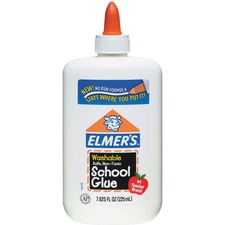 EPI E308 Elmer's Washable School Glue EPIE308