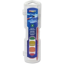 DIX 80516 Dixon Prang Washable Metallic Watercolors Set DIX80516