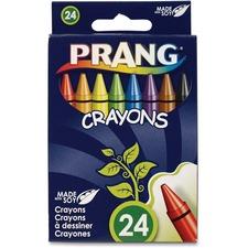 DIX 00400 Dixon Prang 24 Count Wax Crayons DIX00400