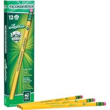 DIX 13304 Dixon Laddie Pencil w/ Eraser DIX13304