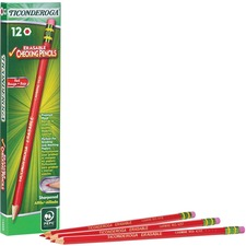 DIX 14259 Dixon Ticonderoga Erasable Colored Pencils DIX14259