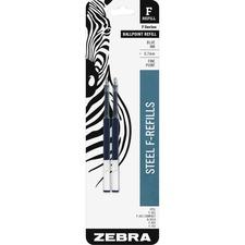 ZEB 85522 Zebra F-Series Pen Refills ZEB85522