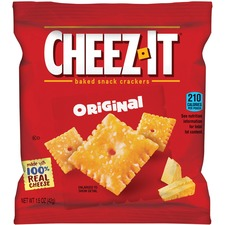 KEB 12233 Keebler Cheez-It Original Baked Snack Crackers KEB12233