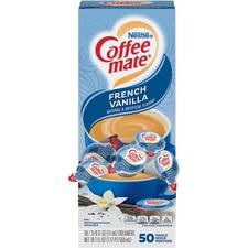 NES 35170 Nestle Coffee-mate Vanilla Liquid Creamer Singles NES35170