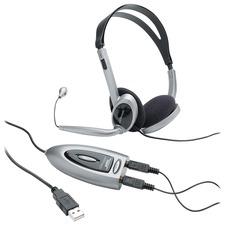 CCS 55257 Compucessory Multimedia USB Stereo Headset CCS55257